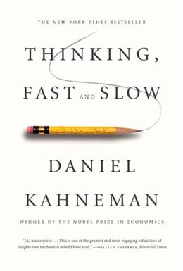 Thinking, Fast and Slow, by Kahneman 9780374533557