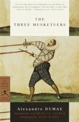 The Three Musketeers (Modern Library Classics) 9780375756740