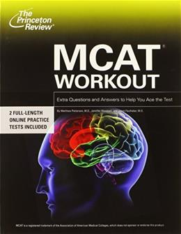 MCAT Workout, by Patterson 9780375766312