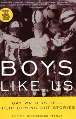 Boys Like Us: Gay Writers Tell Their Coming Out Stories 9780380788354