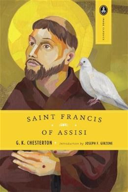 St. Francis of Assisi, by Chesterton 9780385029001