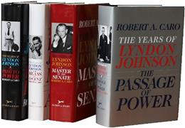 Robert A. Caros The Years of Lyndon Johnson Set: The Path to Power; Means of Ascent; Master of the Senate; The Passage of Power 9780385351478