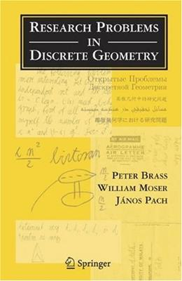Research Problems in Discrete Geometry, by Brab 9780387238159