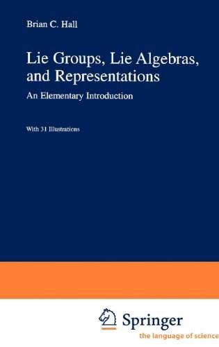 Lie Groups, Lie Algebras, and Representations, by Hall 9780387401225