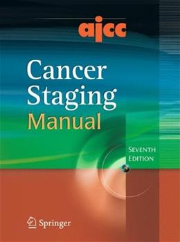 AJCC Cancer Staging Manual, by Edge, 7th Edition 7 w/CD 9780387884400