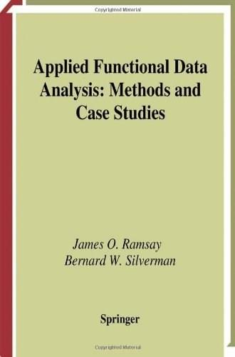 Applied Functional Data Analysis, by Ramsay 9780387954141