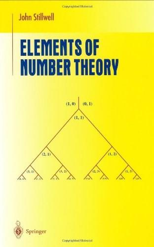Elements of Number Theory, by Stillwell 9780387955872