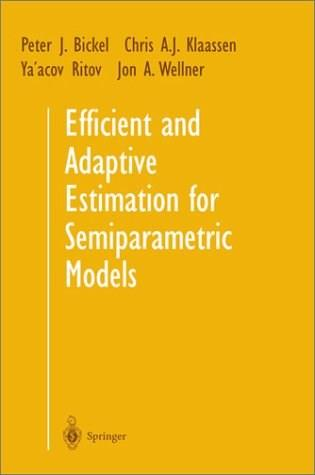Efficient and Adaptive Estimation for Semiparametric Models, by Bickel 9780387984735