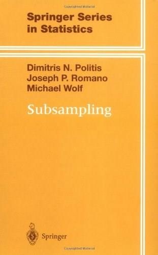 Subsampling, by Politis 9780387988542
