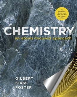 Chemistry: An Atoms-Focused Approach PKG 9780393124194