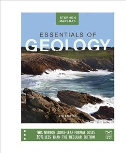 Essentials of Geology, by Marshak, 4th Edition 9780393124323