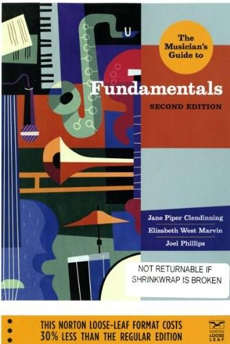 Musicians Guide to Fundamentals, by Clendinning, 2nd Edition 2 w/CD 9780393124330