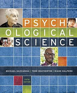 Psychological Science (Fifth Edition) 5 PKG 9780393250893