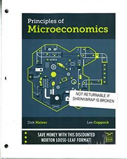 Principles of Microeconomics, by Mateer PKG 9780393263183