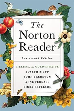 Norton Reader, by Goldthwaite, 14th Edition 9780393264111