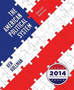 American Political System, by Kollman, 2nd Edition 9780393264203