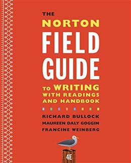 The Norton Field Guide to Writing with Readings and Handbook (Fourth Edition) 4 9780393264388