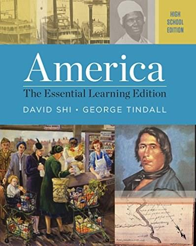 America: The Essential Learning Edition (High School Edition) 9780393265071