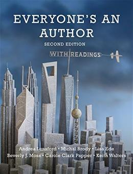 Everyones an Author with Readings (Second Edition) 2 9780393265293