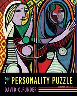 Personality Puzzle, by Funder, 7th Edition 9780393600421