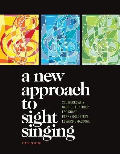 A New Approach to Sight Singing (Fifth Edition) 5 9780393911503