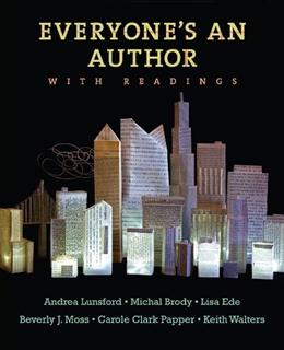 Everyones An Author with Readings Edition Un 9780393912012