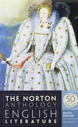 The Norton Anthology of English Literature (Ninth Edition)  (Vol. Package 1: Volumes A, B, C) 9 PKG 9780393913002