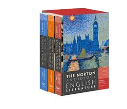 Norton Anthology of English Literature, by Greenblatt, 9th Edition, Volume D,E, and F 9 PKG 9780393913019