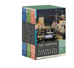 Norton Anthology of American Literature, by Baym, 8th Edition, Volumes, C, D and E 8 PKG 9780393913101