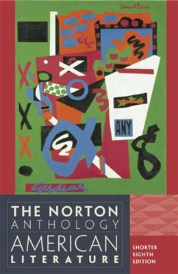 The Norton Anthology of American Literature, 8th Edition 9780393918854