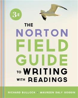 The Norton Field Guide to Writing, with Readings (Third Edition) 3 9780393919578