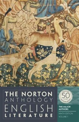 The Norton Anthology of English Literature, The Major Authors (Ninth Edition)  (Vol. 1) 9 9780393919646