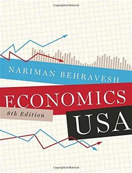 Economics USA, by Behravesh, 8th Edition 9780393919691