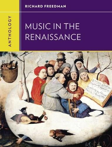 Anthology for Music in the Renaissance, by Freedman 9780393920192