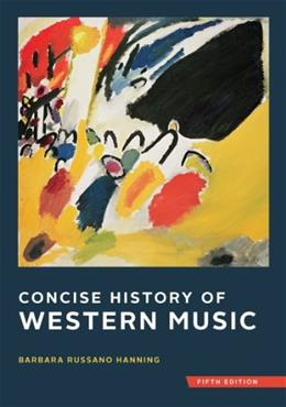 Concise History of Western Music (Fifth Edition) 5 PKG 9780393920666