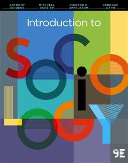 Introduction to Sociology (Ninth Edition) 9 9780393922196