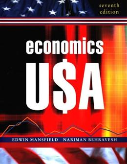 Economics USA, by Mansfield, 7th Edition 9780393926057