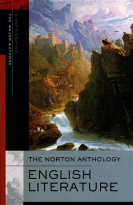Norton Anthology of English Literature: The Major Authors, by Greenblatt, 8th Edition 8 PKG 9780393928297