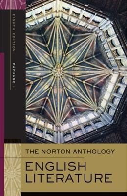 Norton Anthology of English Literature, by Greenblatt, 8th Edition, Volumes A, B, C 8 PKG 9780393928334