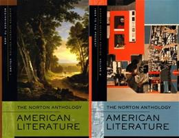 Norton Anthology American Literature, by Baym, 7th Shorter Edition, 2 Volume Set 7 PKG 9780393930580