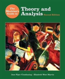 The Musicians Guide to Theory and Analysis (Second Edition)  (The Musicians Guide Series) 2 w/DVD 9780393930818