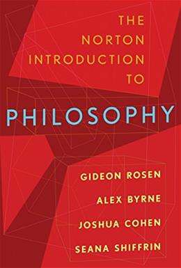 The Norton Introduction to Philosophy 1st 9780393932201