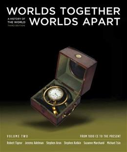 Worlds Together, Worlds Apart: A History of the World, by Tignor, 3rd Edition, Volume 2 : From 1000 CE to the Present 9780393934946