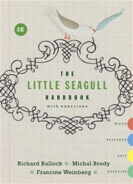 The Little Seagull Handbook with Exercises (Second Edition) 2 9780393935813