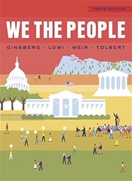 We the People (Full Tenth Edition) 10 9780393937039