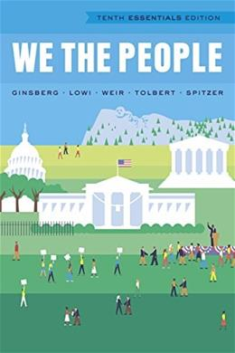 We the People (Tenth Essentials Edition) 10 9780393937053