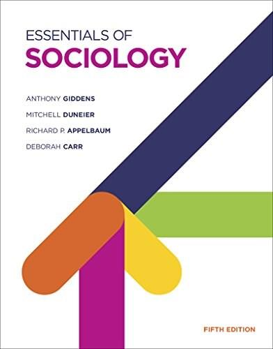 Essentials of Sociology (Fifth Edition) 5 9780393937459