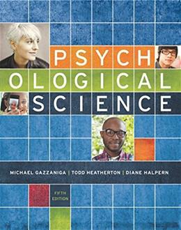 Psychological Science (Fifth Edition) 5 PKG 9780393937497