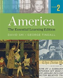 America: The Essential Learning Edition (Vol. 2) PKG 9780393938036