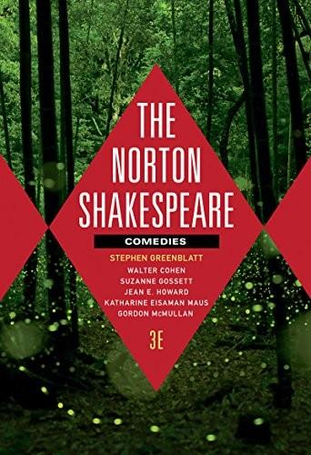 Norton Shakespeare: Comedies, by Greenblatt, 3rd Edition 3 PKG 9780393938616